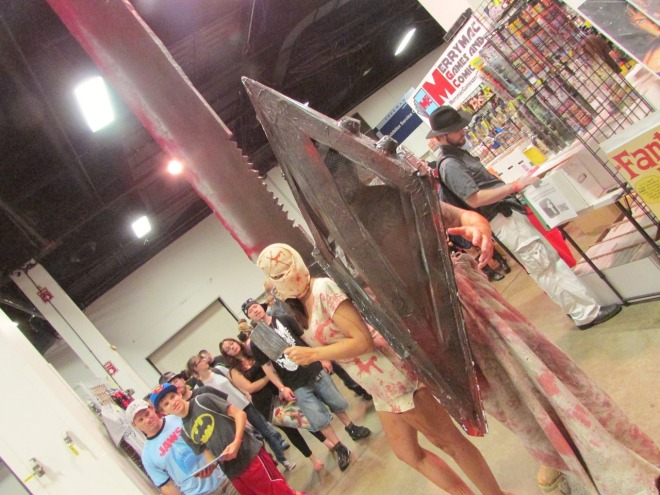 I had such a mini freak-out over these brilliant Silent Hill costumes.