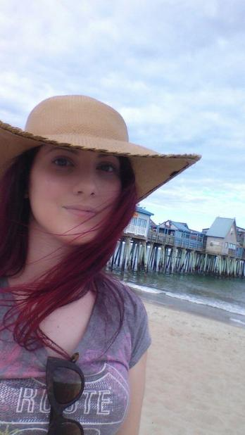 Me at Old Orchard Beach, Maine. June 2014.