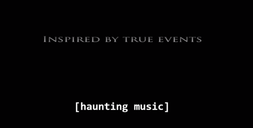 Which means it never happened. Also: I forgot to turn the subtitles off.