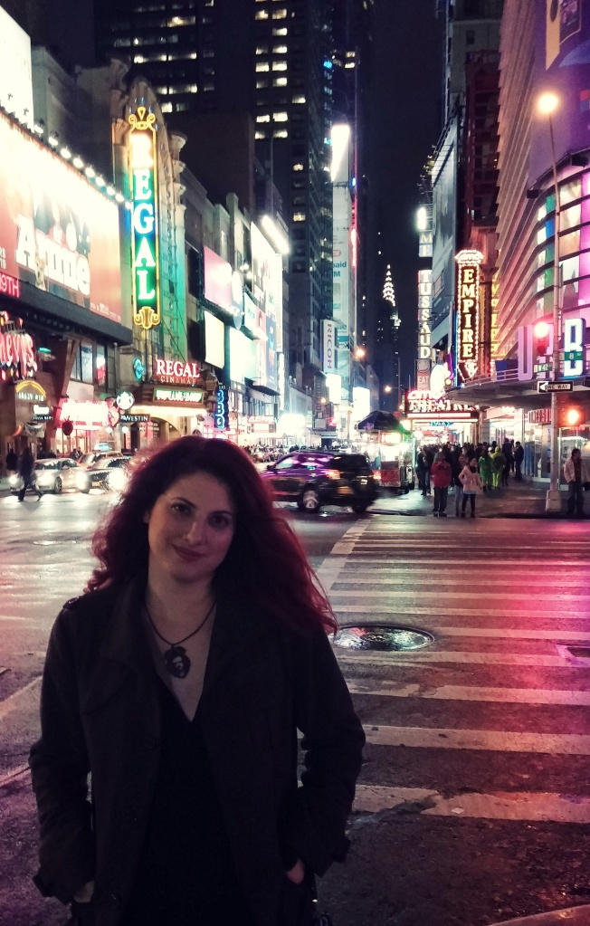 November 1st, 2014. 2:30 A.M. Times Square. Slightly inebriated.