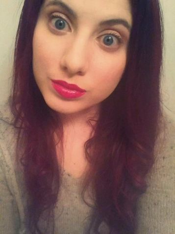 Breaking out the neon pink lipstick. Spring Brayyyyy-ke Foreva'.