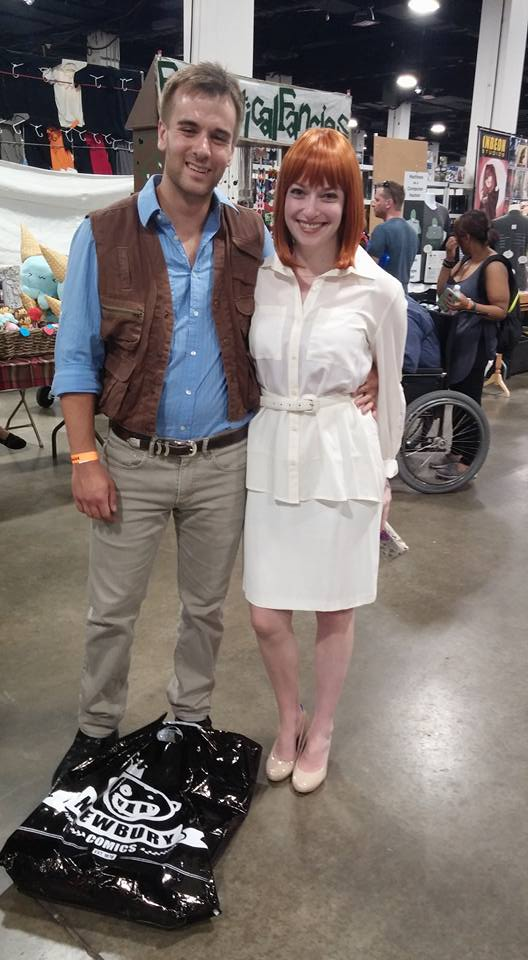 "Owen and Claire from ""Jurassic World"". I loved these two!"