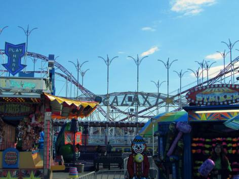 The amusement park at Old Orchard Beach
