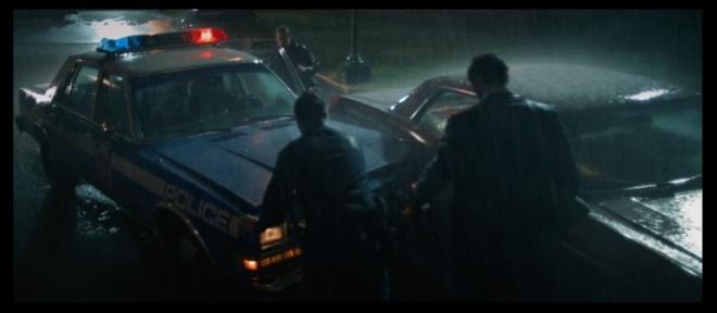 You could could just take the Impala right there, instead- or that completely unscathed car in the background- too.