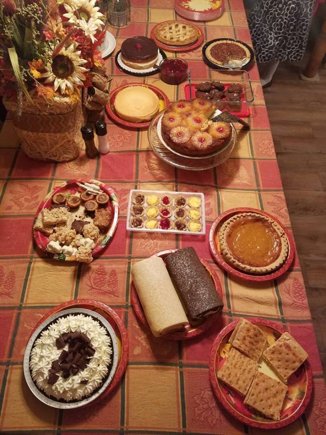 Dessert Table! Thanksgiving 2016